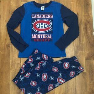 4/$12 Pajamas-Montreal Canadiens